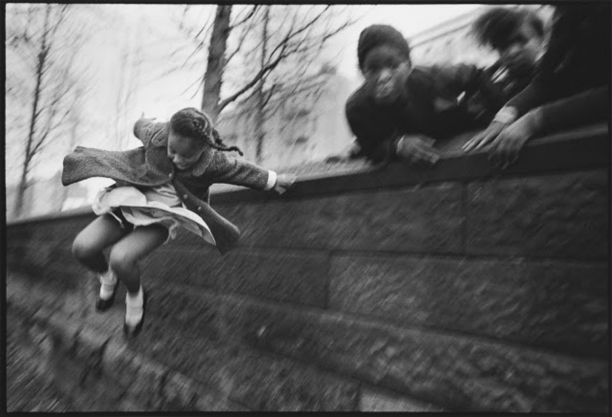 Imatge presa per Mary Ellen Mark al Central Park l'any 1967