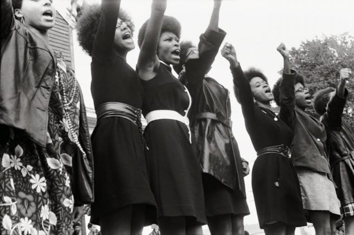 Panteres Negres de Sacramento, al Bobby Hutton Memorial Park a Oakland, EUA, 1969.