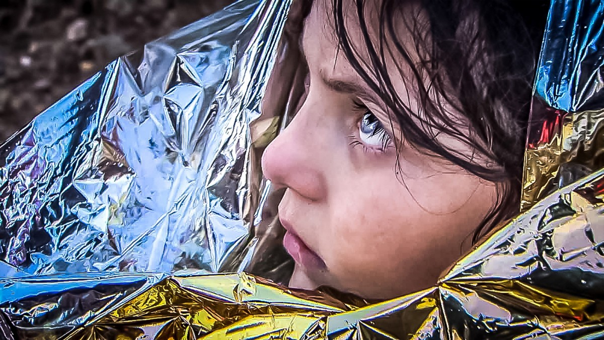 Una de les imatges frapants de 'To Kyma. Rescat al mar Egeu'