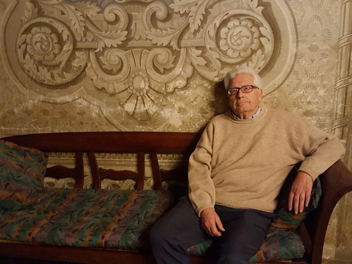 Pau Espona, a casa seva al Rosell, el 18 d'octubre passat