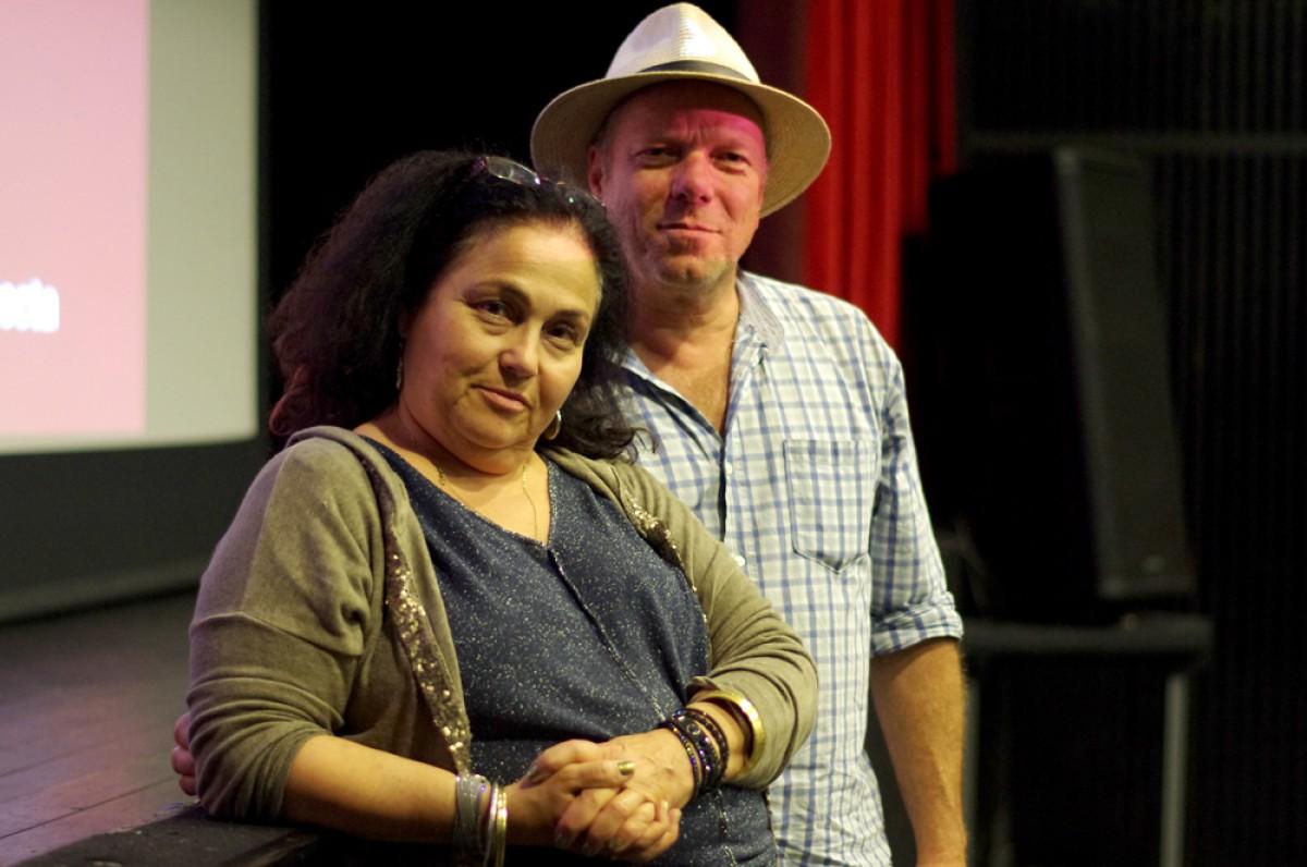 Angélique Kourounis i Thomas Iacobi a l'Espai ETC de Vic