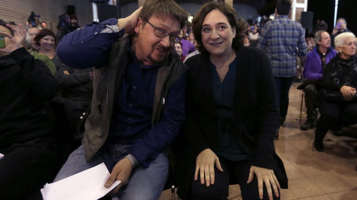 Xavier Domènech i Ada Colau