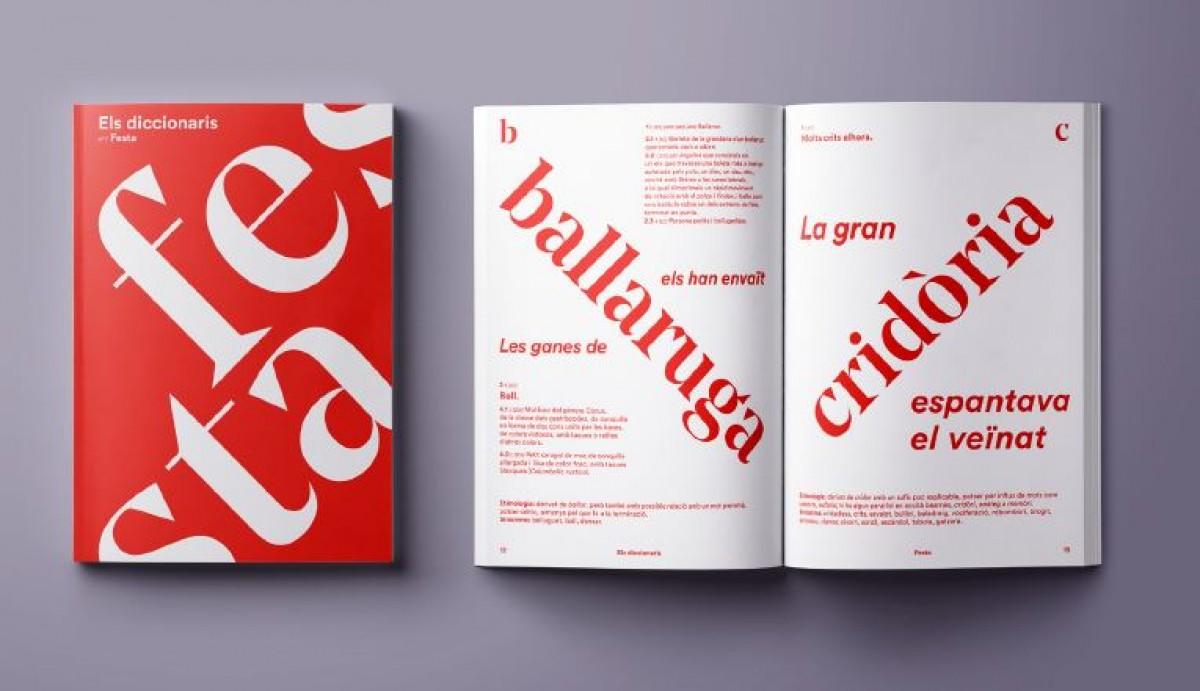 Algunes mostres del primer volum d'«Els diccionaris» dedicat a la festa