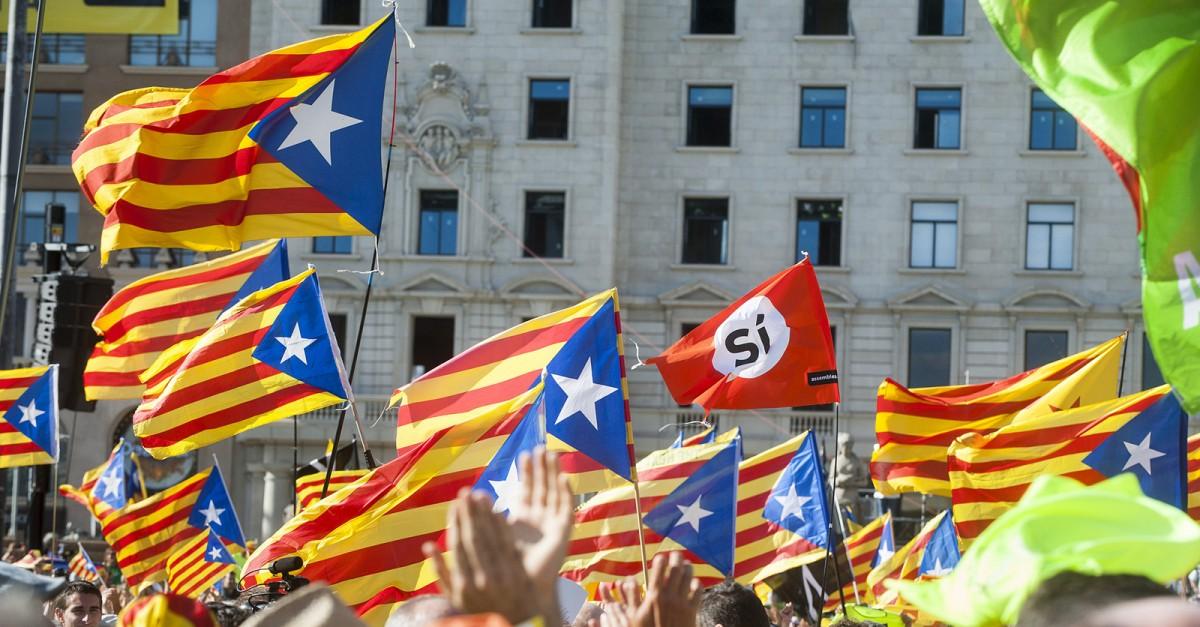 Concentració independentista per la Diada de 2017