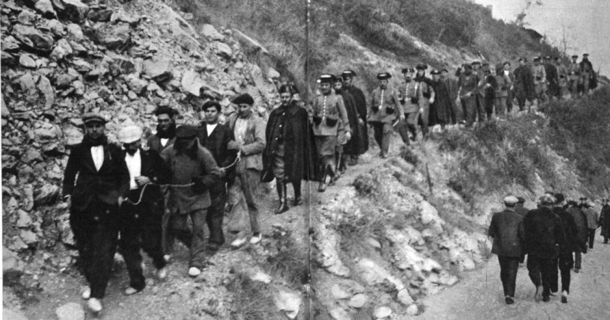 Molts dels obrers més significatius de la revolta de Fígols van ser detinguts i posteriorment deportats