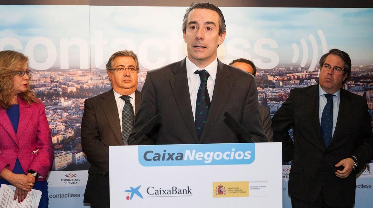 Juan Antonio Alcaraz, durant un acte a Sevilla