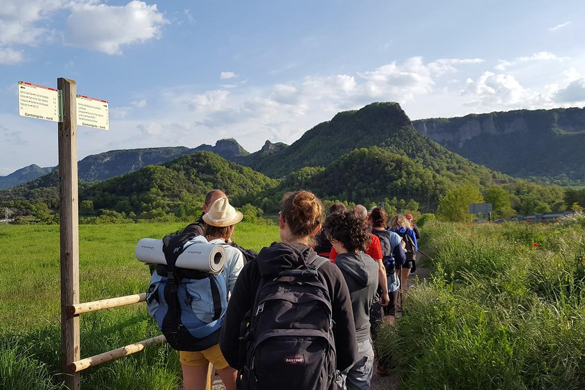 «Caminant el perímetre» recorrerà pel perímetre de quatre poblacions osonenques diferents durant els dissabtes d'abril