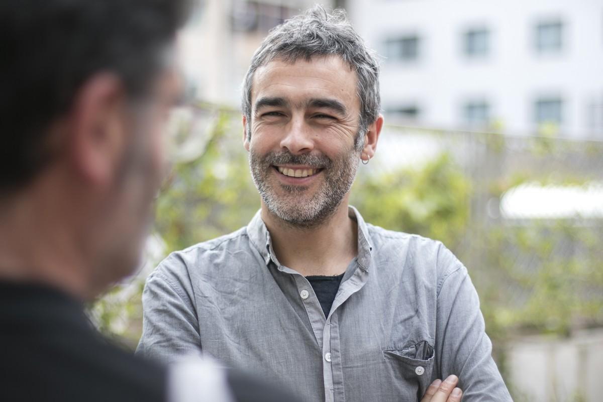 Toni Lodeiro, durant l'entrevista