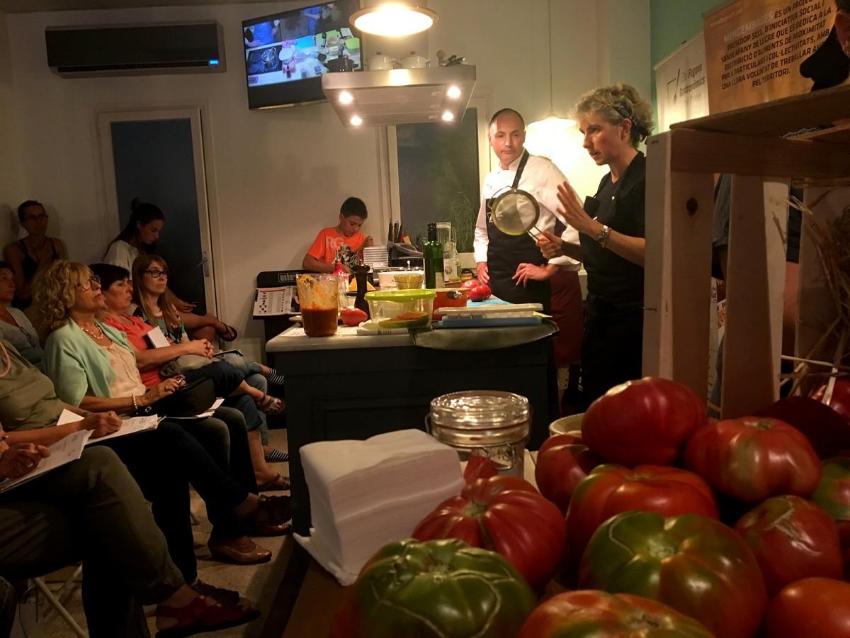 Una de les activitats de la Festa del Tomàquet de l'any passat