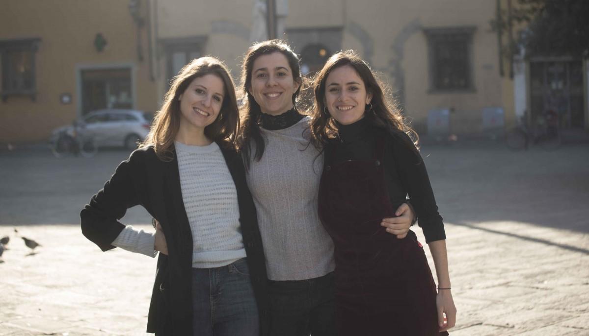 Helena Cardona, Julia Goula i Dafne Saldaña, les tres arquitectes d'Equal Saree