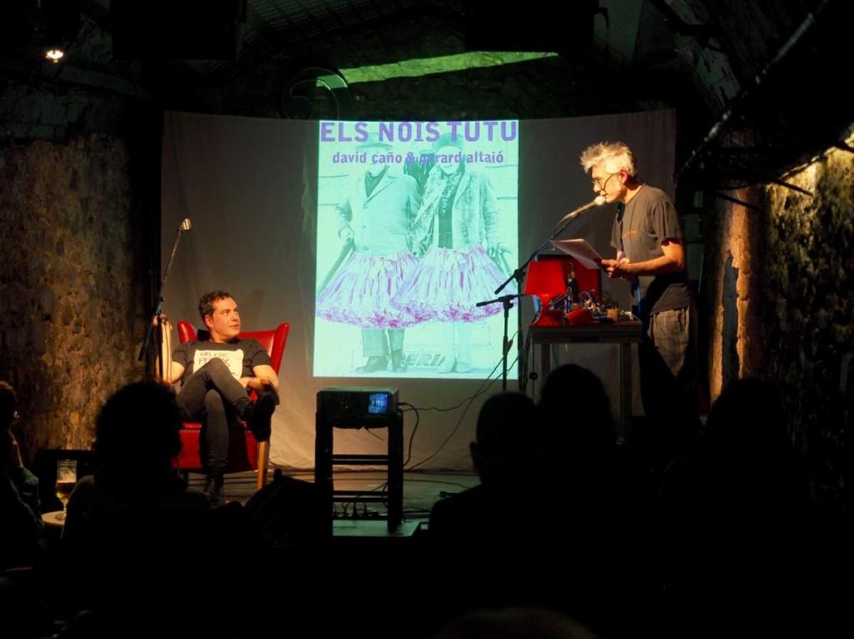 David Caño i Gerard Altaió, aquest dimecres a la Jazz Cava de Vic