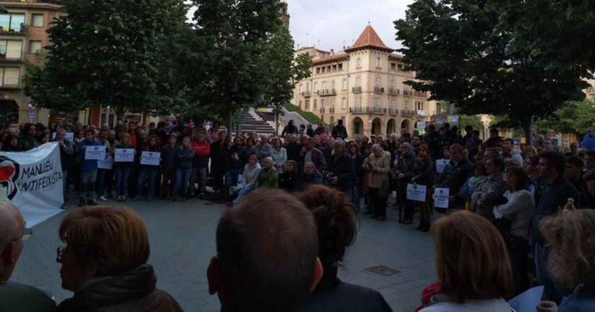 Concentració de rebuig al feixisme, aquest dissabte mateix a la plaça Fra Bernadí de Manlleu