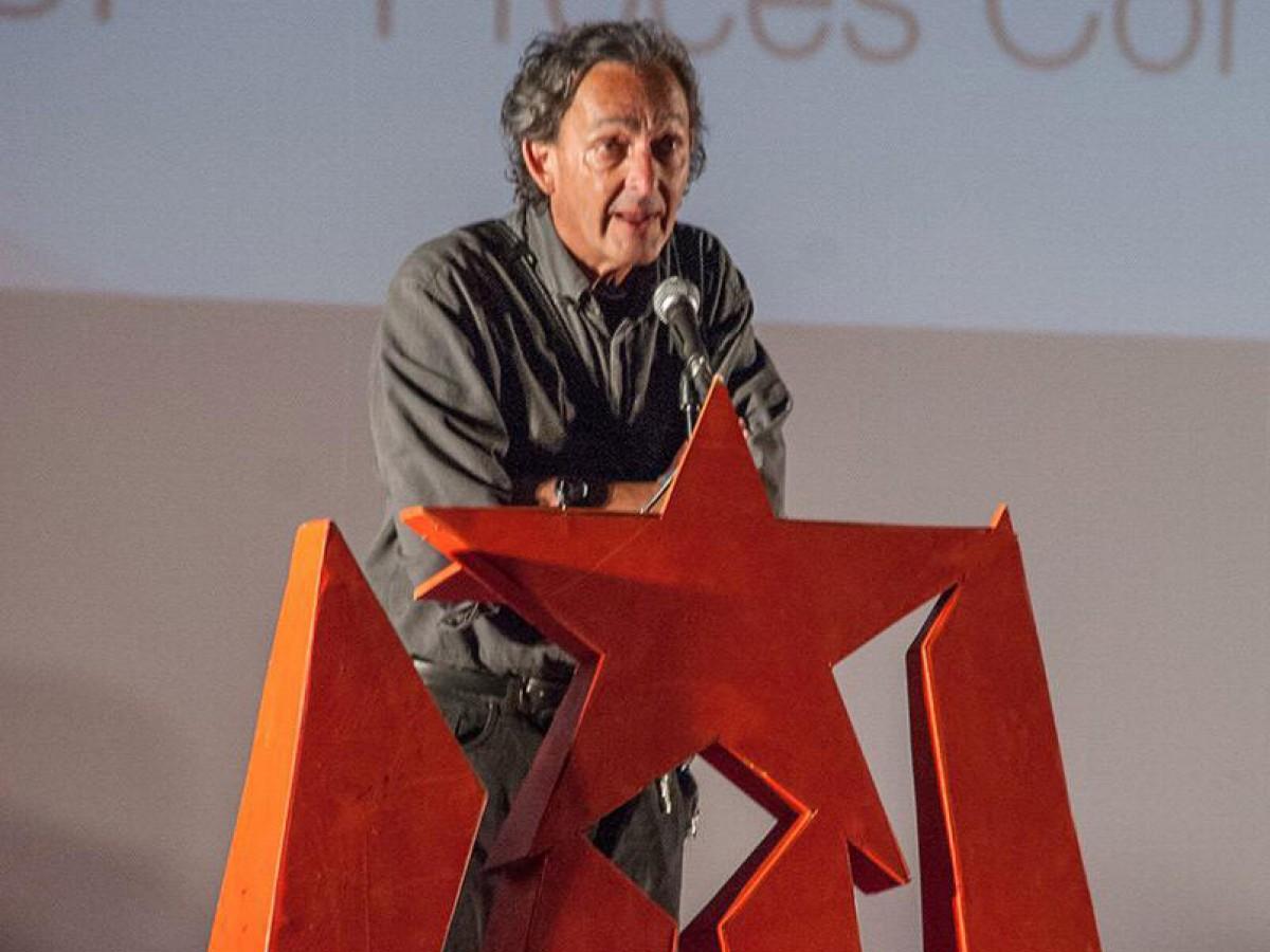 Ramon Ripoll, en un acte de Capgirem Vic