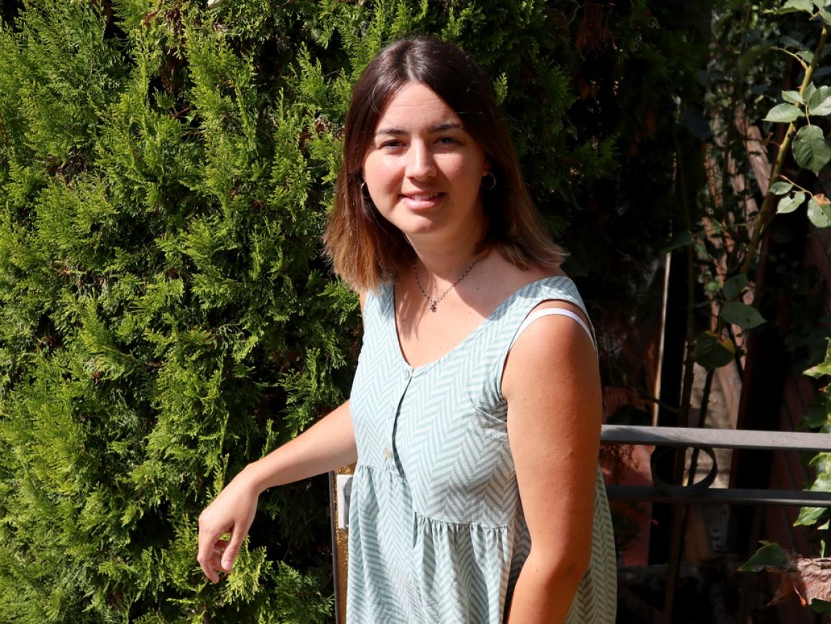 Laia Casadevall, llevadora i activista pel part respectat