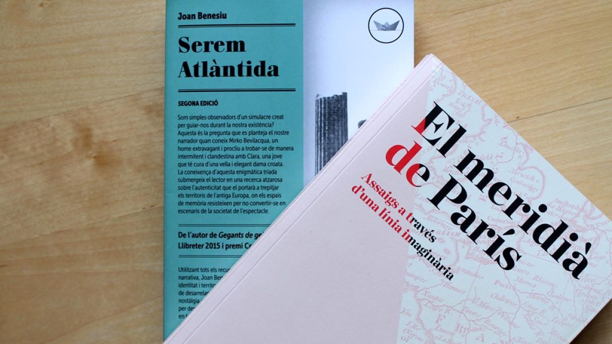 El confinament ha enganxat a Pol Rifà, autor de la ressenya, llegint 'Serem Atlàntida', de Joan Benesiu (Edicions del Periscopi, 2019)