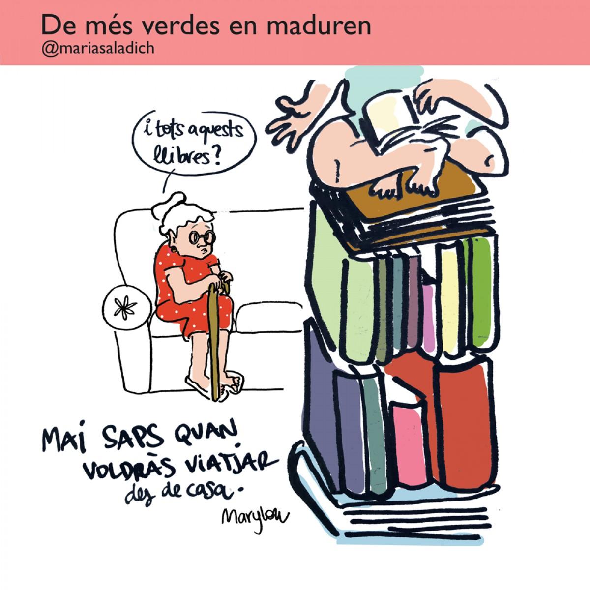 Aquest estiu, les iaies de la Maria Saladich viatjaran a través dels llibres