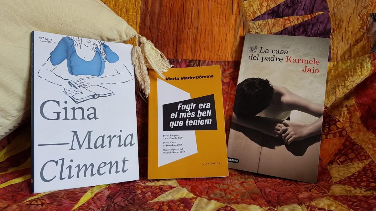 La única cosa que tenen en comú aquestes tres novel·les és que han atrapat a Mar Carrera i que han estat escrites per dones