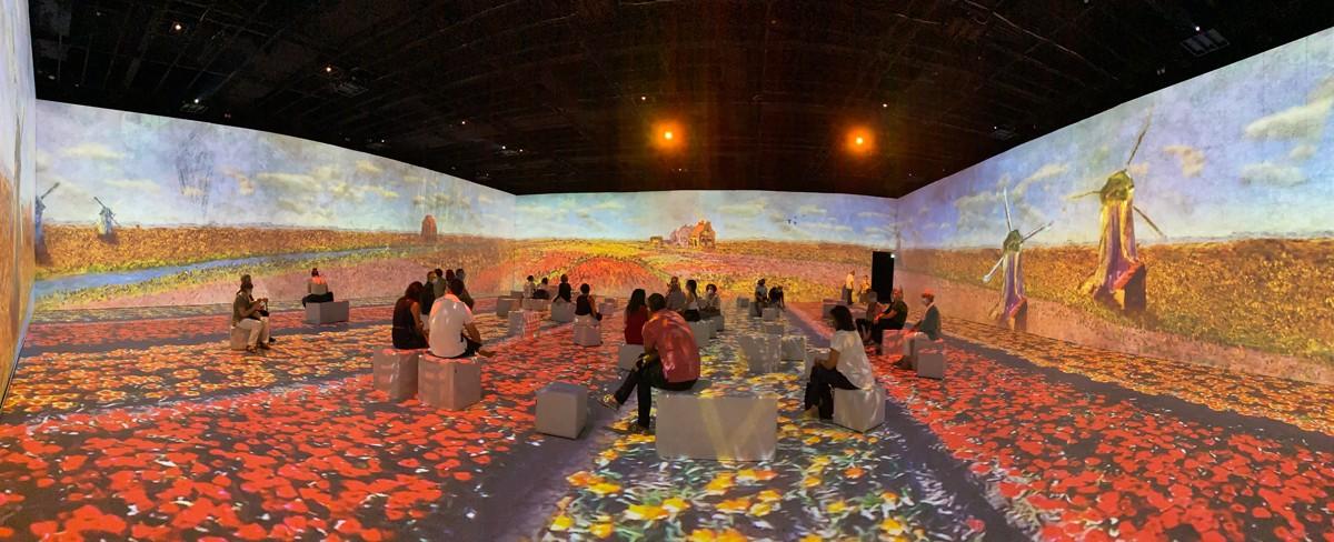 La IDEAL. Sala de realitat immersiva.