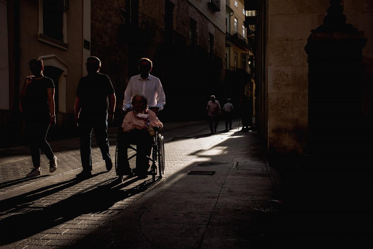 «El que és de debò imperdonable és que la deixadesa dels responsables polítics hagi convertit els nostres carrers en una cursa d'obstacles»