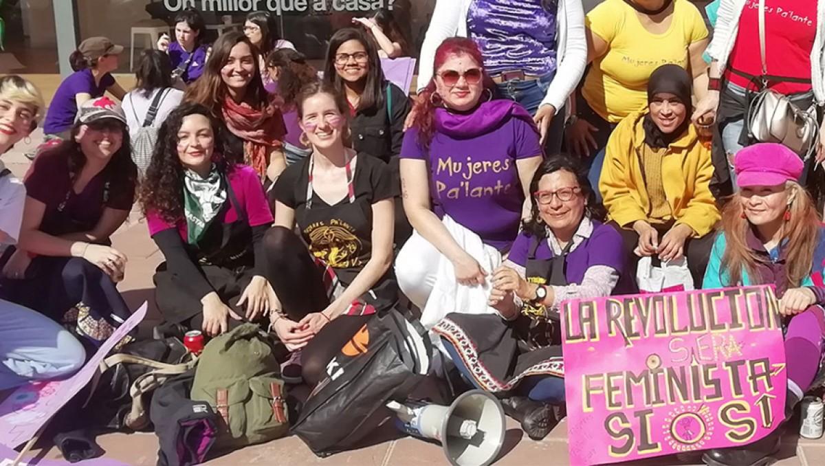 Activitat amb el col·lectiu Mujeres Pa'lante, que va obrir camí en la regularització de l'àmbit de les cures a l'àrea metropolitana