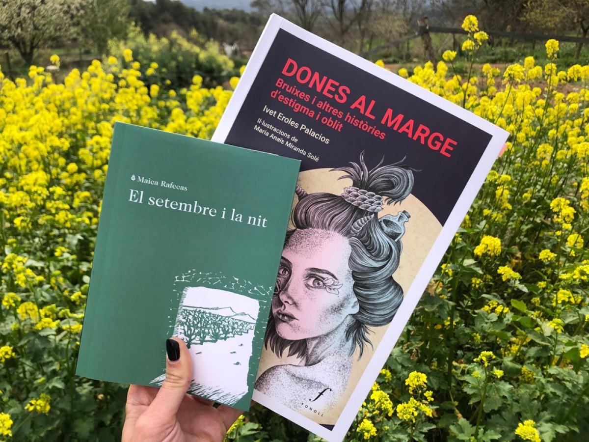 Les escriptores Maica Rafecas i Ivet Eroles presentaran 'El setembre i la nit' i 'Dones al marge' durant els propers dies a Vic