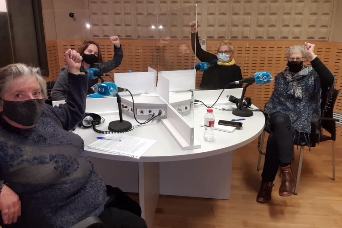 Susanna Mary, Marta Boixeda, Montse Castañé i Roser Iborra, quatre de les vuit integrants de l'equip del programa
