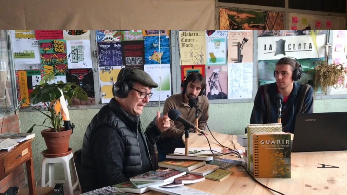 D'esquerra a dreta: Lluís Marmi, Roger Sena i Marcel Pujols