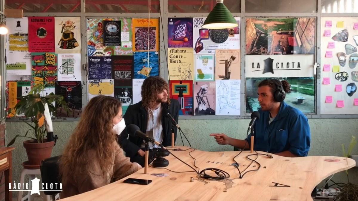 D'esquerra a dreta: Elena Tarrats, Marc Vilajuana i Marcel Pujols