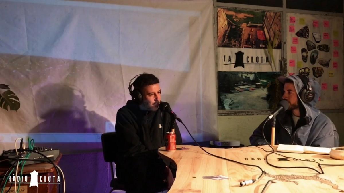 D'esquerra a dreta: David Crespo i Arnau Musach