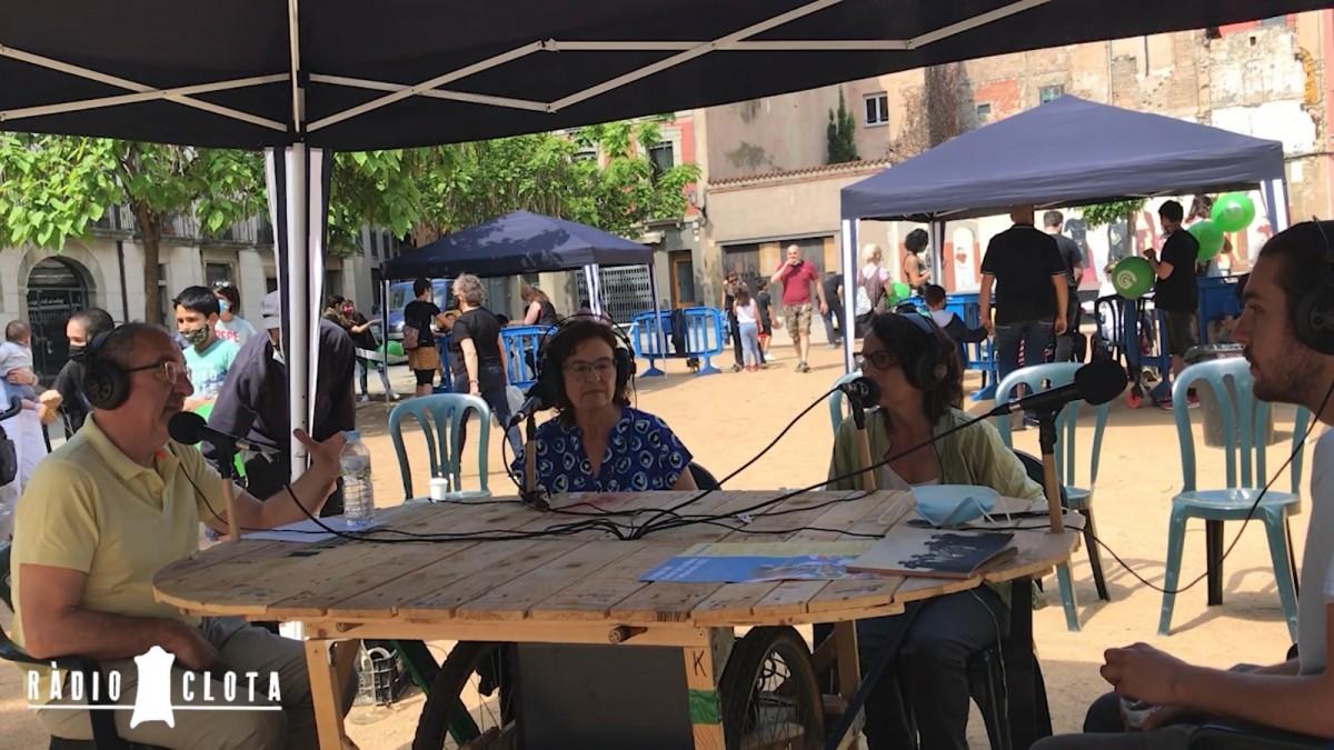 Conversa amb els membres de l'Associació de veïns i la Comissió de Festes
